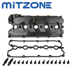 Engine Valve Cover W Gasket Bolts For 06 14 Vw Jetta Rabbit Golf Passat 2 5l