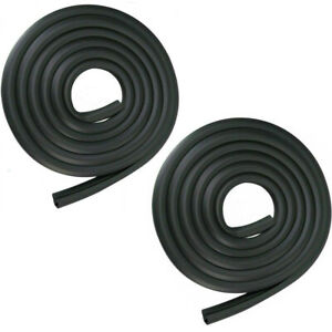 Door Seals Rubber Weatherstrip Pair For 73 79 Ford Bronco F100 F150 F250 F350