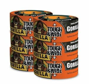 Gorilla Tape 30 Yards 2 88 Tough Wide Double Thick Weather resistant 6 pack