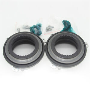 2ps Auto Hub Lock 4 Wheel Drive Actuators Fit 04 2013 Ford F 150 Expedition 4wd