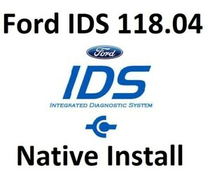 Latest Ford Ids 118 04 Cal Files Pro Diagnostic Software Native Install