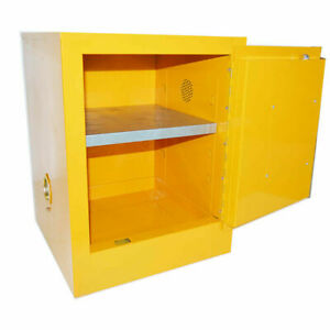 Industrial Small Flammable Safety Locker Cabinet Safety Storage Cabinet 15 Gal