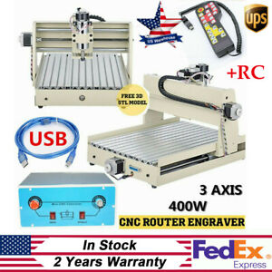 400w Usb 3axis Cnc 3040 Router Engraver Wood Drilling Milling Machine controller