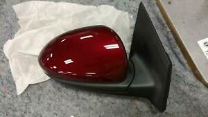 Side View Door Mirror For Cruze Like New Oem Assyy Blk text Red cvr Right