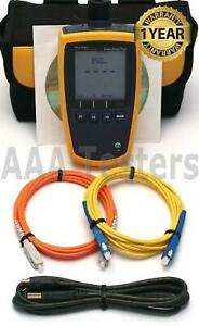 Fluke Networks Simplifiber Pro Sm Mm Fiber Optic Power Meter Sfpowermeter