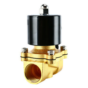 Ac110v 3 4 brass Electric Solenoid Valve Two way Solenoid Valve Closed Water Oil
