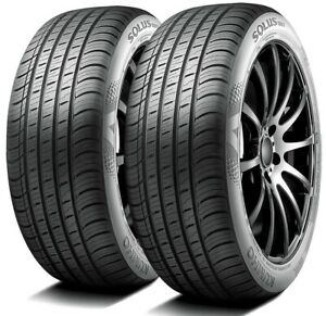 2 New Kumho Solus Ta71 205 55r16 91v A S Performance Tires