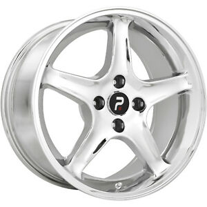 4 17x9 Chrome Wheel Oe Performance 102 1995 Mustang Cobra R 5x4 5