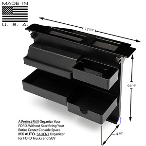Ford Pickup Center Tray Organizer Console Fits 15 20 F150 Pickup Oe Storage Box
