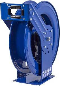 Coxreels Spring Rewind Hose Reel For Air water oil 3 8 I d 100 3000 Psi
