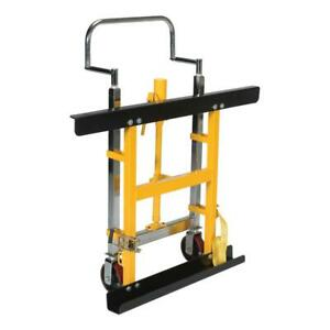 Pallet Rack Lifting Dolly Safety Strap Hydraulic Pump Cart Truck Equipment Mover