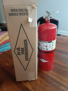 Amerex 423 Abc Fire Extinguisher Dry Chemical 20 Lb