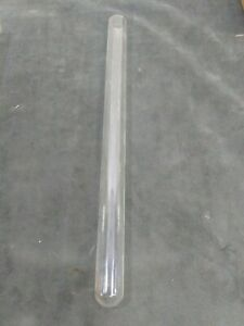 Pyrex Test Tubes 16 Inch Long X 2 5 Inch Round Closed End Used Thick Glass