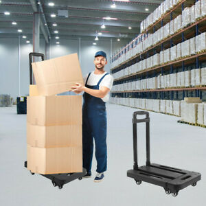 440lb Heavy Duty Moving Dolly Stair Climbing Hand Truck Warehouse Appliance Cart