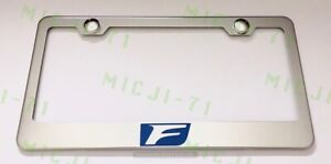 F Sport Lexus Stainless Steel License Plate Frame Rust Free W Bolt Caps