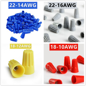 300 750pcs Variety Of Twist on Wire Connector Connection Nuts Barrel Screw