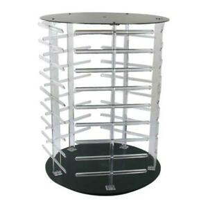 Rotating Earring Display Stand Revolving 180 Cards