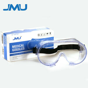 Safety Goggles Over Glasses Lab Work Eye Protective Eyewear Clear Lens 1 pair