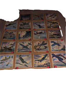 19 1943 Vintage COCA-COLA SIGN+ Military U.S. Army Plane Condition varries.