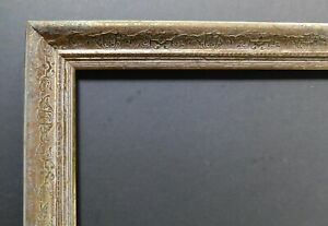 Vintage Mid Century Gold Foil Embossed Ornate Picture Frame Holds 10 X 24