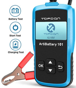 Topdon Ab101 Automotive Battery Load Tester On Cranking System