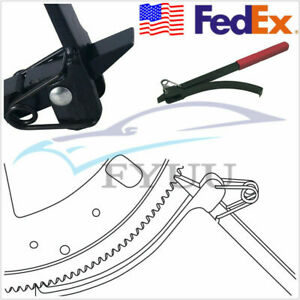 Us Ship Flywheel Turner Turning Tool Wrench Flex Plate Holder For Car Suv Truck