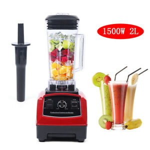 Black Professional Blender commercial 1500w 2hp 2000ml new Juicer Mixer