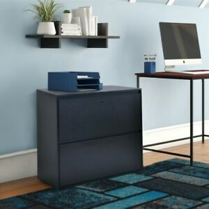 Home Office 2 drawer Lateral File Cabinet With Lock For Letter legal Size Files
