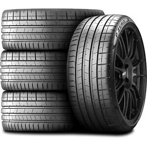 4 Pirelli P Zero Pz4 245 45r20 103w Xl Performance Run Flat Tires