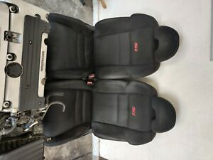 2006 2011 Honda Civic Si Coupe Front Cloth Bucket Seats Rh Lh Rear Oem