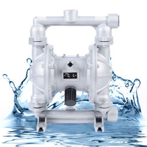 Air operated Double Diaphragm Pump 24gpm 1 Inlet Outlet 1 2 Inch Air Inlet