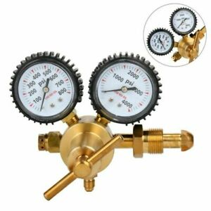 Nitrogen Regulator With 0 800 Psi Delivery Pressure Equipment Brass Inlet Cga580