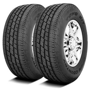 2 New Toyo Open Country H t Ii Lt 265 60r20 Load E 10 Ply Light Truck Tires