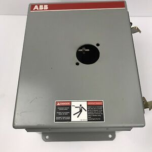 Abb Nf322 8p99a Disconnect Switch Box W Ot32e3 Switches And Hoffman Box