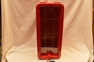 5 Lb Red Fire Extinguisher Cabinet Indoor outdoor W Lock And free Shipping