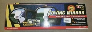 New 11960 Cipa Universal Towing Mirror 17 X 5 25 As Seen On Tv