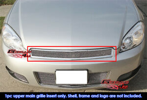 Fits 2006 2013 Chevy Impala 2006 2007 Monte Carlo Mesh Grille Grill Insert