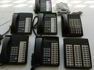 Toshiba Dkt2020 sd 20 Button Speaker Phone Charcoal 2020sd lot Of 6 Extra