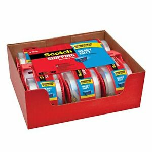 Scotch Clear Shipping Packing Tape 1 88x800 W dispenser Heavy Duty Pick Yours