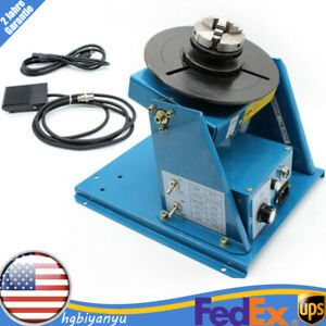 Rotary Welding Positioner Turntable Welder Table 10kg For Welding Annular Weld
