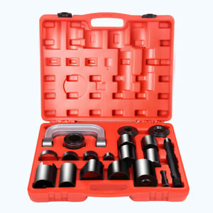21pc Ball Joint Auto Repair Remove Installing Master Adapter C frame Press 2 4wd
