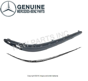 For Mercedes W211 W212 S211 Front Passenger Bumper Impact Absorber Strip Genuine