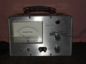 Vintage Rca Radio Corp Of America Camden Nj Ultra sensitive Dc Microammeter