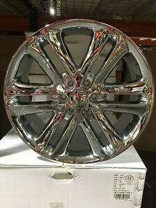 4 F150 Limited 22 Chrome Oe Replica Ford Wheels 6x135 Truck Factory Fitment