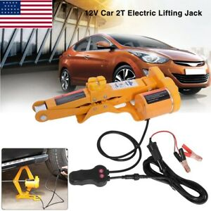 2 Ton 12v Dc Automotive Car Automatic Electric Lifting Jack Garage And Emergency