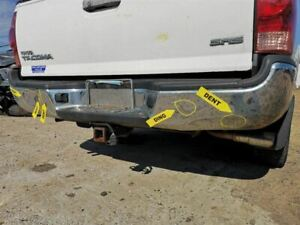 Rear Bumper Chrome Without Tow Package Fits 05 15 Tacoma 224863