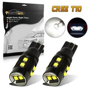 T10 White 50w Cree xbd High Power Led Parking Light Bulb 2825 168 921 X2