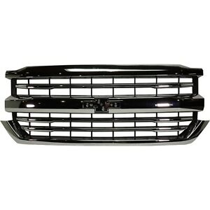 84374378 84056776 New Grille Grill For Chevy Chevrolet Silverado 1500 Truck Ld