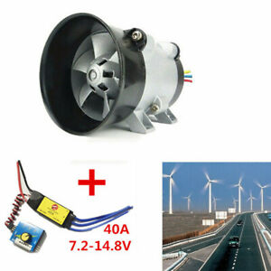 12v Car Electric Turbine Power Turbo Charger Boost Air Intake Fan Y type 5 wire