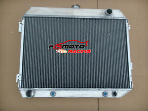 4 Row Aluminum Radiator For 63 69 Dodge Charger 1968 1972 Plymouth Gtx 71 70